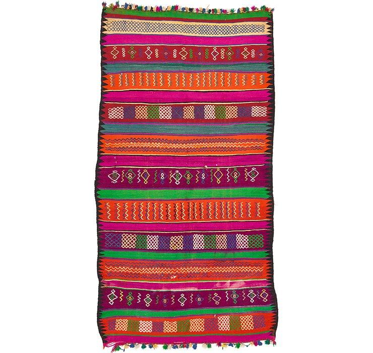 6' 3 x 11' 10 Moroccan Rug