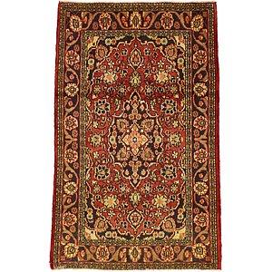 HandKnotted 4' 2 x 6' 5 Hamedan Persian Rug