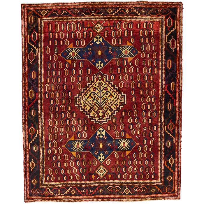 4' 9 x 5' 10 Roodbar Persian Rug