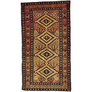 4' 2 x 7' 7 Shiraz Persian Rug