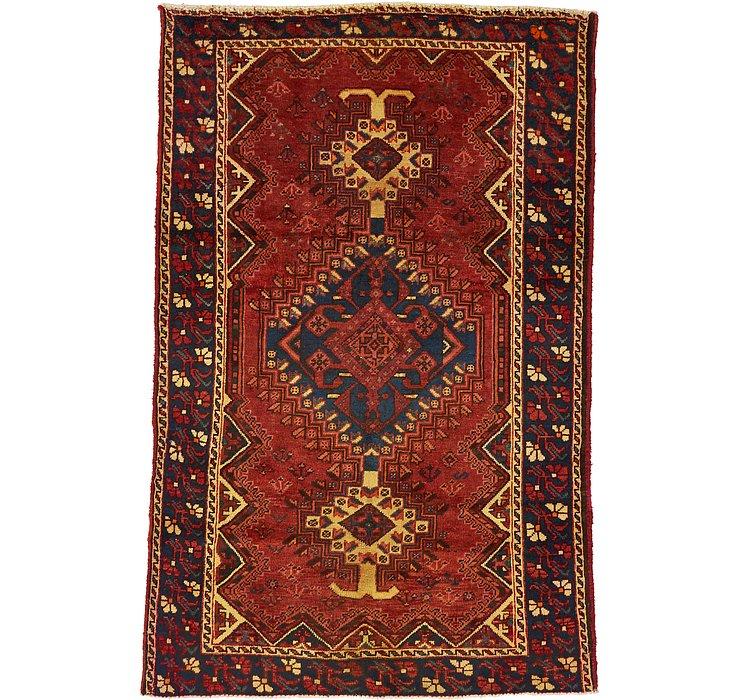 4' 2 x 6' 5 Shiraz Persian Rug