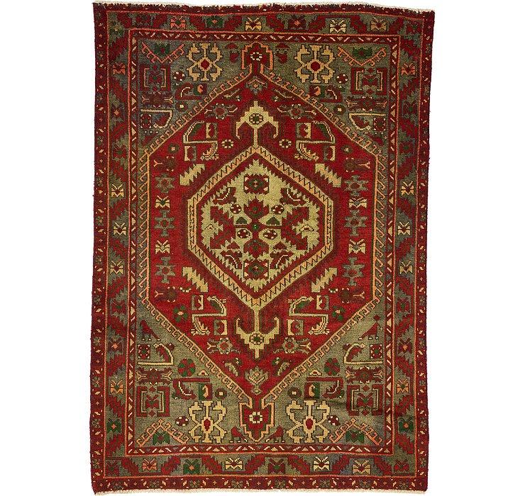 4' 4 x 6' 4 Zanjan Persian Rug
