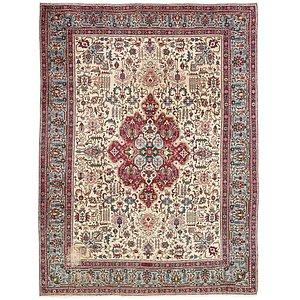 10' 1 x 13' 4 Tabriz Persian Rug