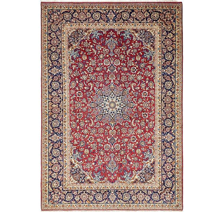 9' 8 x 14' 1 Isfahan Persian Rug