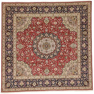11' 2 x 11' 6 Isfahan Persian Square...