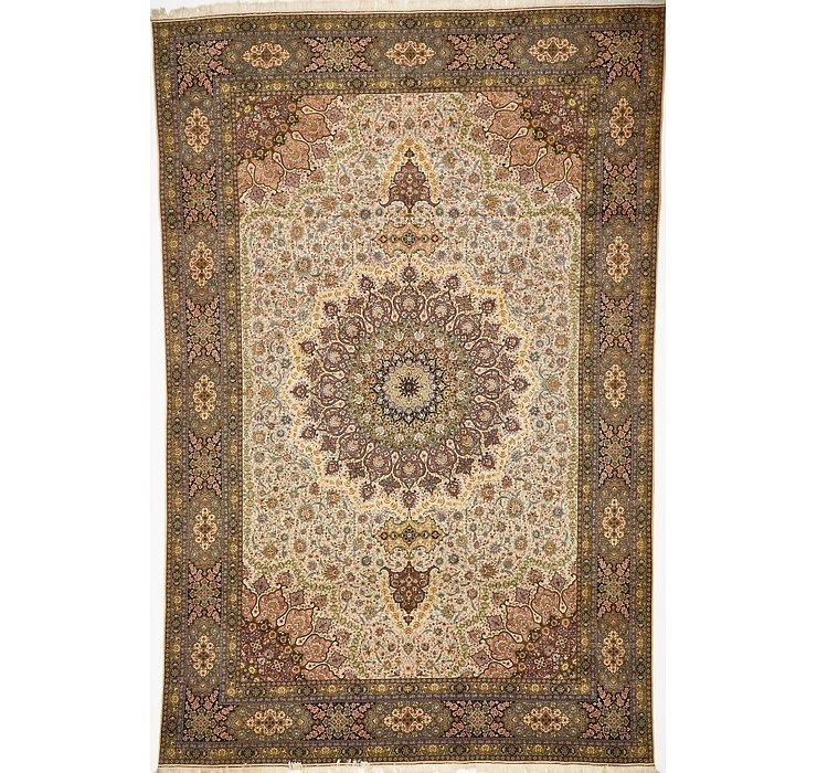 12' 11 x 19' 8 Tabriz Persian Rug