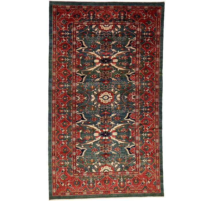 8' 9 x 14' 10 Meshkabad Persian Rug