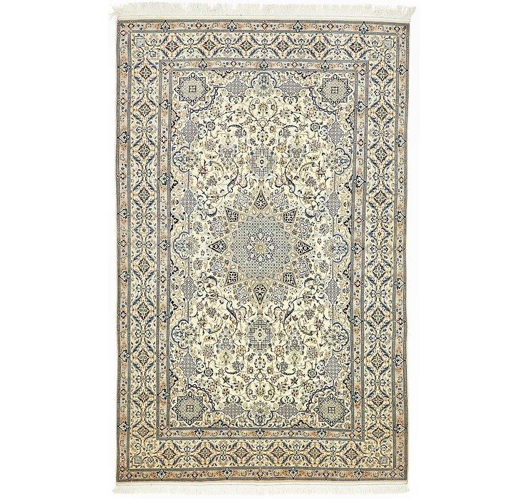 7' 3 x 11' 9 Nain Persian Rug