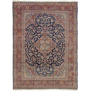 9' x 12' 1 Kashan Persian Rug