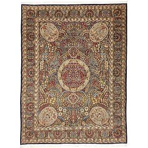 Unique Loom 9' 10 x 12' 9 Kerman Persian Rug