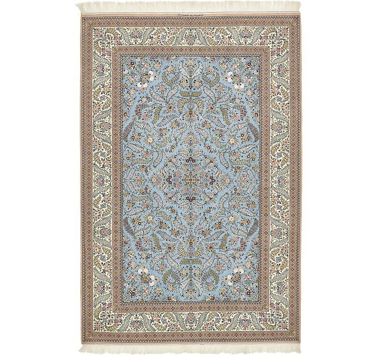 7' x 10' 5 Isfahan Persian Rug