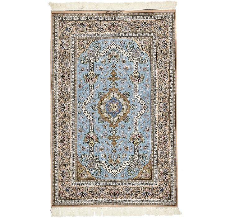 HandKnotted 5' x 7' 7 Isfahan Persian Rug
