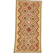 Link to Unique Loom 4' 6 x 9' Kilim Maymana Rug
