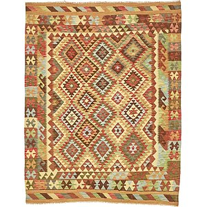 Unique Loom 5' x 6' 5 Kilim Maymana Rug
