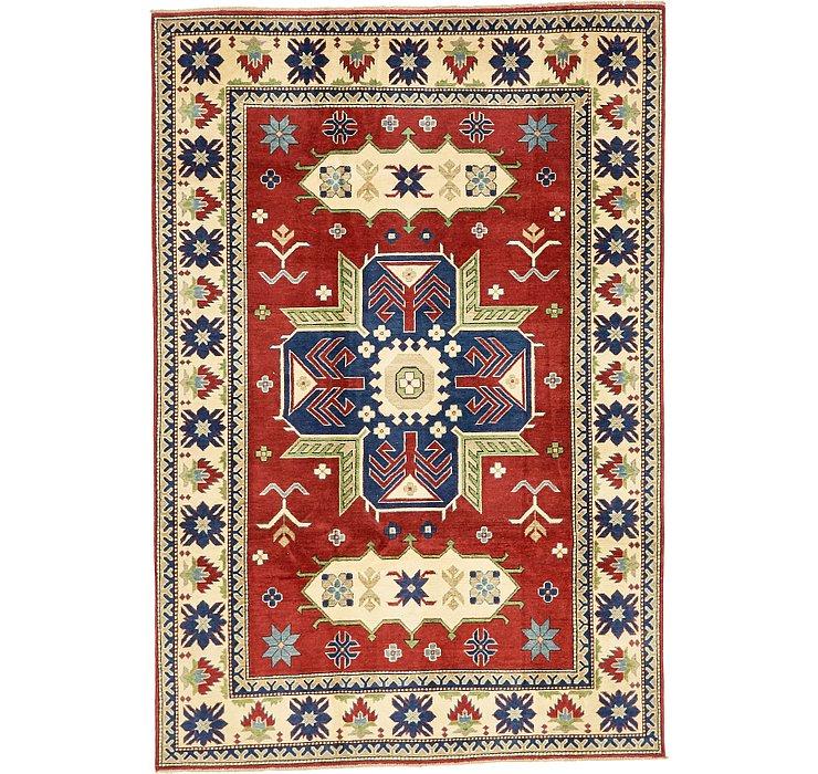 6' 3 x 9' 2 Kazak Oriental Rug