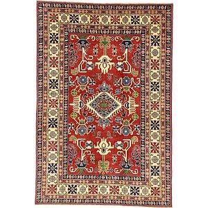 6' 7 x 9' 7 Kazak Oriental Rug