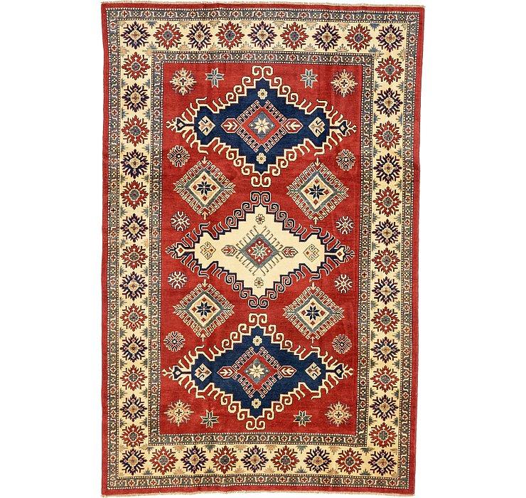 6' 4 x 9' 7 Kazak Oriental Rug