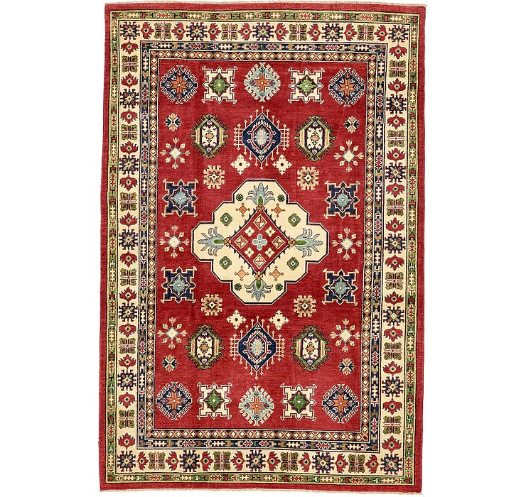 6' x 9' 2 Kazak Oriental Rug
