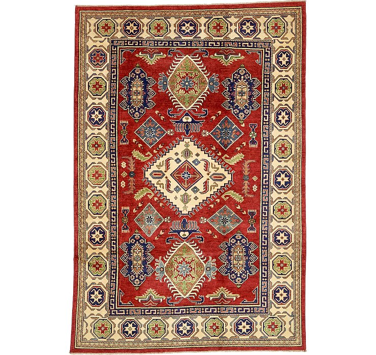 6' 5 x 9' 8 Kazak Oriental Rug