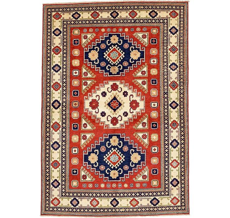 6' 1 x 9' Kazak Oriental Rug