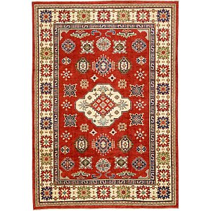 6 7 X 9 5 Kazak Oriental Rug