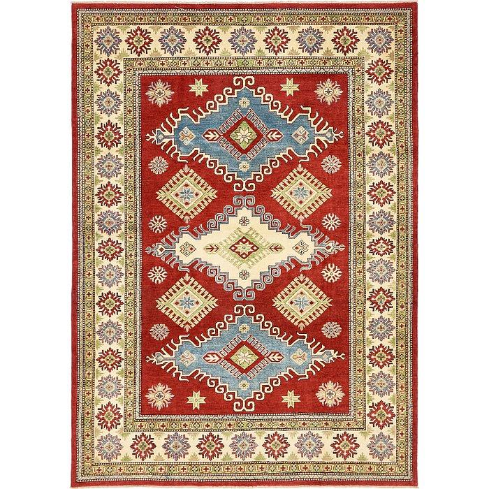6' 11 x 9' 9 Kazak Oriental Rug
