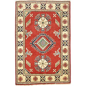 2' 7 x 3' 11 Kazak Oriental Rug