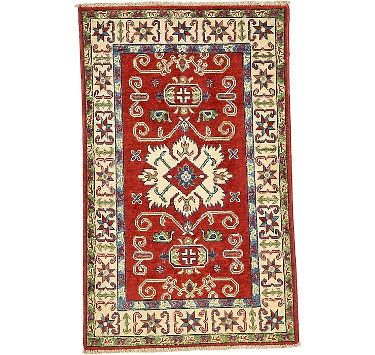 2' 6 x 4' 2 Kazak Oriental Rug