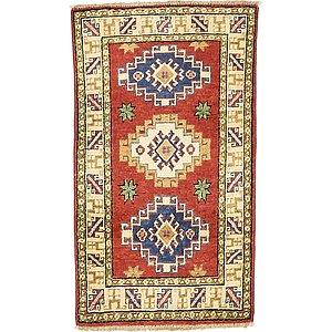 1' 9 x 3' 1 Kazak Oriental Rug