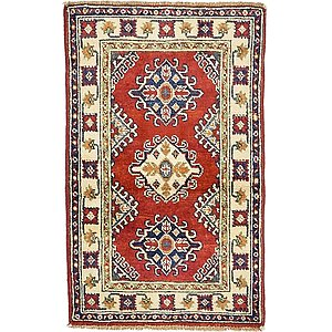 1' 11 x 3' 1 Kazak Oriental Rug