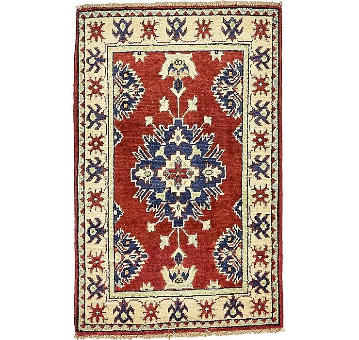 HandKnotted 2' x 3' 2 Kazak Oriental Rug