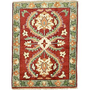 2' 1 x 2' 9 Kazak Oriental Rug