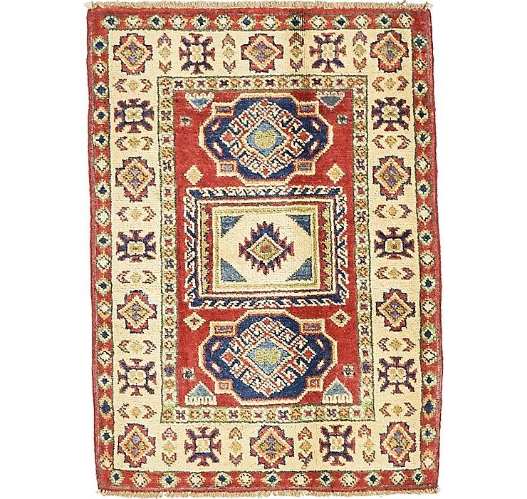 2' 1 x 2' 11 Kazak Oriental Rug