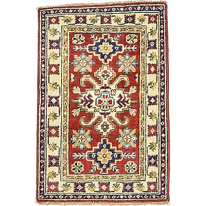 2' x 3' 1 Kazak Oriental Rug