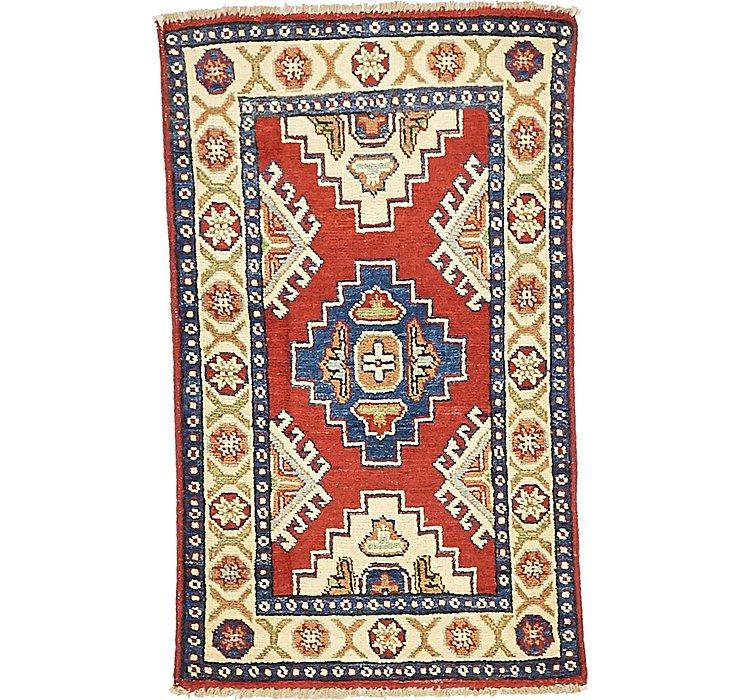 2' 10 x 3' 2 Kazak Oriental Rug