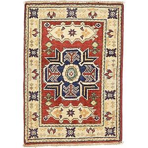 1' 11 x 2' 10 Kazak Oriental Rug