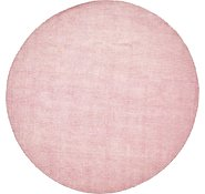Link to 9' 10 x 9' 10 Solid Gabbeh Round Rug