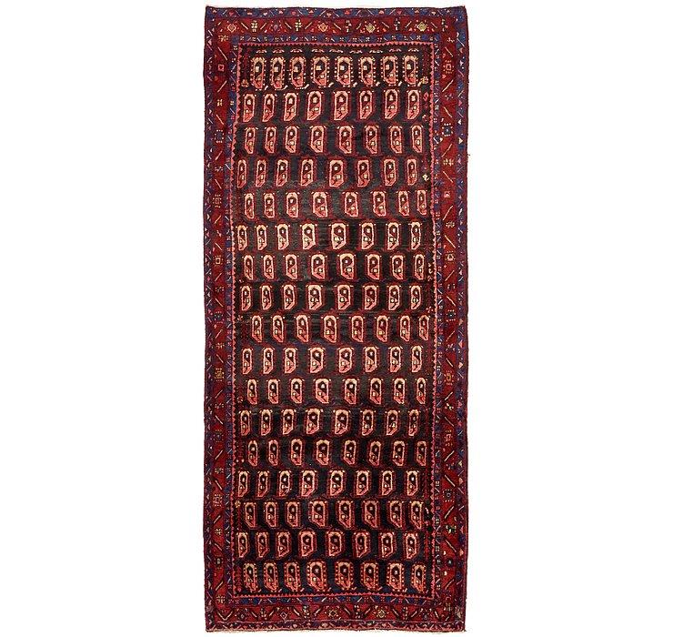 4' 5 x 11' 3 Sirjan Persian Runner Rug