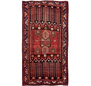 Link to 4' 11 x 9' 3 Hamedan Persian Runner Rug
