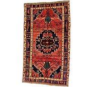 Link to 4' 6 x 8' Hamedan Persian Rug