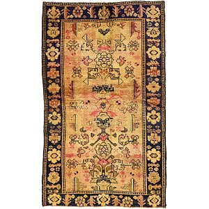 4' 4 x 7' 7 Shiraz Persian Rug