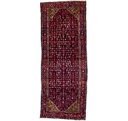 Link to 3' 11 x 10' Hossainabad Persian Runner Rug