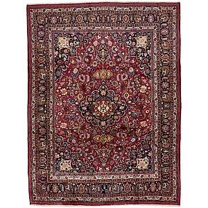 HandKnotted 9' 8 x 12' 10 Mashad Persian Rug