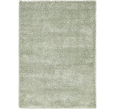 163x229 Luxe Solid Shag Rug