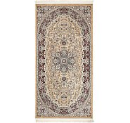 Link to 132cm x 267cm Nain Design Rug