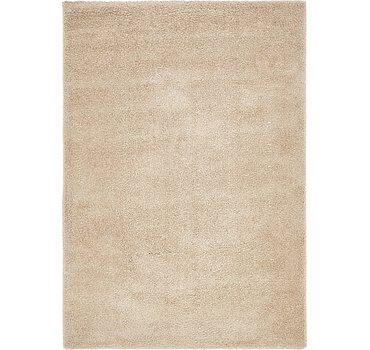 160x231 Luxe Solid Shag Rug
