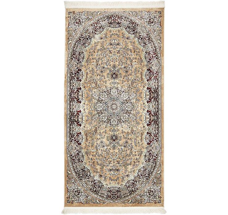 4' 4 x 8' 10 Isfahan Design Rug