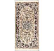 Link to 4' 4 x 9' Isfahan Design Rug