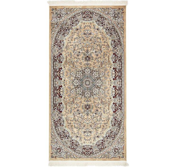 4' 4 x 9' Isfahan Design Rug