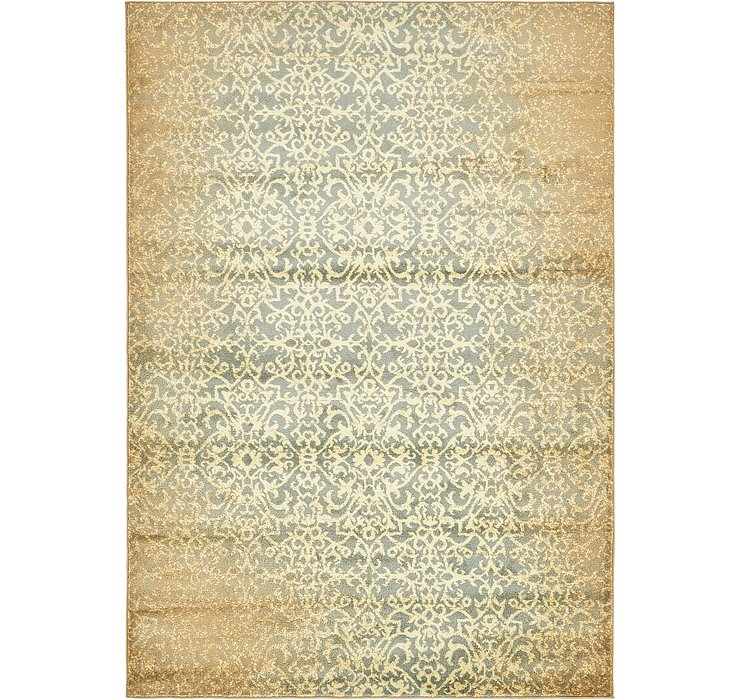 5' 3 x 7' 8 Reproduction Gabbeh Rug